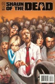 Shaun Of The Dead #3 (2005) Simon Pegg Zombie Horror IDW Publishing comic book